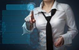 Concepto del negocio, de la tecnología, de Internet y del establecimiento de una red - negocio Imagen de archivo