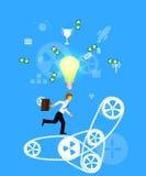 Concepto del negocio de trabajo en equipo Imagen de archivo libre de regalías