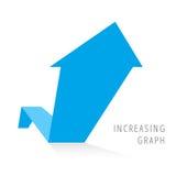 Concepto 6 del negocio del crecimiento Imágenes de archivo libres de regalías