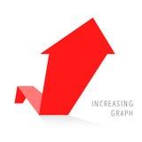 Concepto 5 del negocio del crecimiento Foto de archivo
