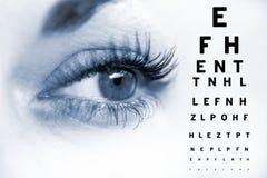 Concepto del oftalmólogo Fotos de archivo