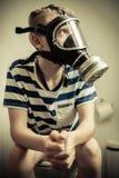 Concepto del olor del retrete Fotos de archivo libres de regalías