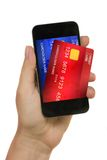 Concepto del pago electrónico Fotos de archivo