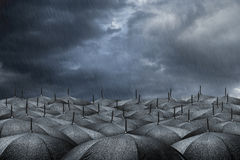 Concepto del paraguas Fotografía de archivo libre de regalías