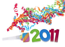 Concepto del partido del Año Nuevo Fotos de archivo libres de regalías
