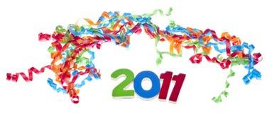 Concepto del partido del Año Nuevo Foto de archivo
