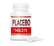 Concepto del placebo. Foto de archivo