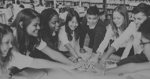 Concepto del plan de la imaginación de la educación de la clase de la reunión de reflexión fotografía de archivo