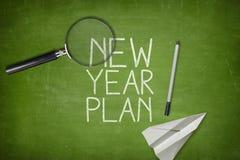 Concepto del plan del Año Nuevo Imagenes de archivo