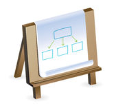 Concepto del plan empresarial Imagenes de archivo