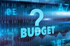 Concepto del presupuesto Fotos de archivo libres de regalías