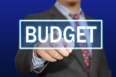 Concepto del presupuesto Fotografía de archivo