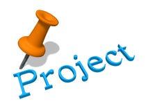 Concepto del proyecto Fotos de archivo libres de regalías
