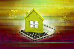 Concepto del préstamo hipotecario Fotografía de archivo