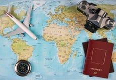 Concepto del recorrido y del turismo Imagen de archivo
