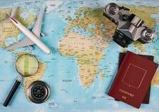 Concepto del recorrido y del turismo Foto de archivo