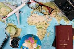 Concepto del recorrido y del turismo Fotos de archivo