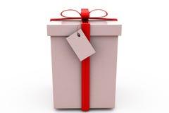 concepto del regalo 3d Imagen de archivo libre de regalías
