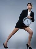 Concepto del reloj biológico foto de archivo libre de regalías