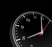 Concepto del reloj de tiempo del negocio Imagenes de archivo