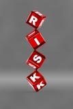 Concepto del riesgo Imagenes de archivo