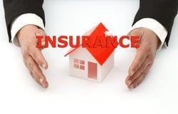 Concepto del seguro Imagen de archivo libre de regalías
