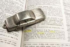 Concepto del seguro de coche foto de archivo libre de regalías