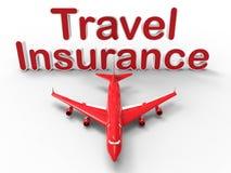 Concepto del seguro del viaje ilustración del vector