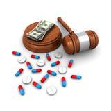 Concepto del seguro médico Fotos de archivo