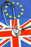 Concepto del seguro médico Imágenes de archivo libres de regalías