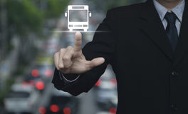 Concepto del servicio del transporte del negocio Imagen de archivo