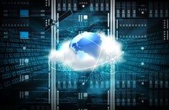 Concepto del servidor de Internet Foto de archivo