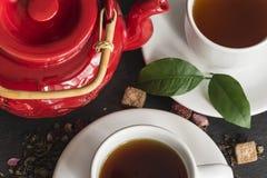 Concepto del té Imagen de archivo