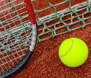 Concepto del tenis Foto de archivo libre de regalías