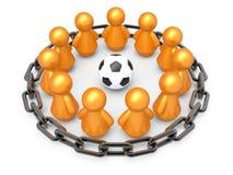 Concepto del trabajo en equipo. Fotografía de archivo