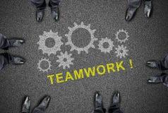 Concepto del trabajo en equipo Fotografía de archivo