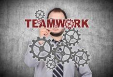 Concepto del trabajo en equipo Foto de archivo