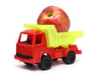 Concepto del transporte del alimento Imágenes de archivo libres de regalías