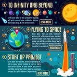 Concepto del universo 04 isométrico Fotos de archivo