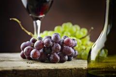 Concepto del vino Fotografía de archivo