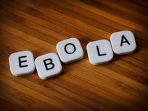 Concepto del virus de Ebola Fotografía de archivo