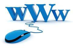 concepto del World Wide Web 3d Imagen de archivo