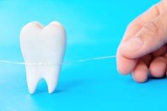 Concepto dental de la higiene Foto de archivo libre de regalías