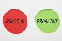 Concepto dinámico reactivo libre illustration