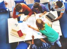 Concepto diverso de People Group Working del arquitecto Fotografía de archivo libre de regalías