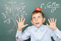 Concepto divertido de la educación Imagen de archivo libre de regalías