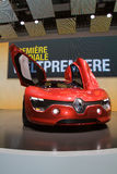 Concepto eléctrico de Renault Dezir - Ginebra 2011 Fotografía de archivo
