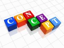 Concepto en el color 2 Fotos de archivo libres de regalías