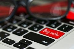 Concepto en línea de compra Imagen de archivo