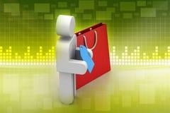 Concepto en línea del pago Imagen de archivo